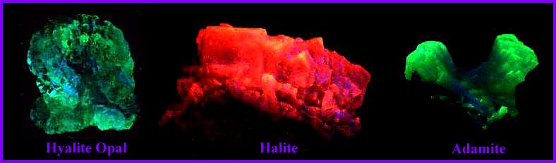 guide to ultraviolet minerals
